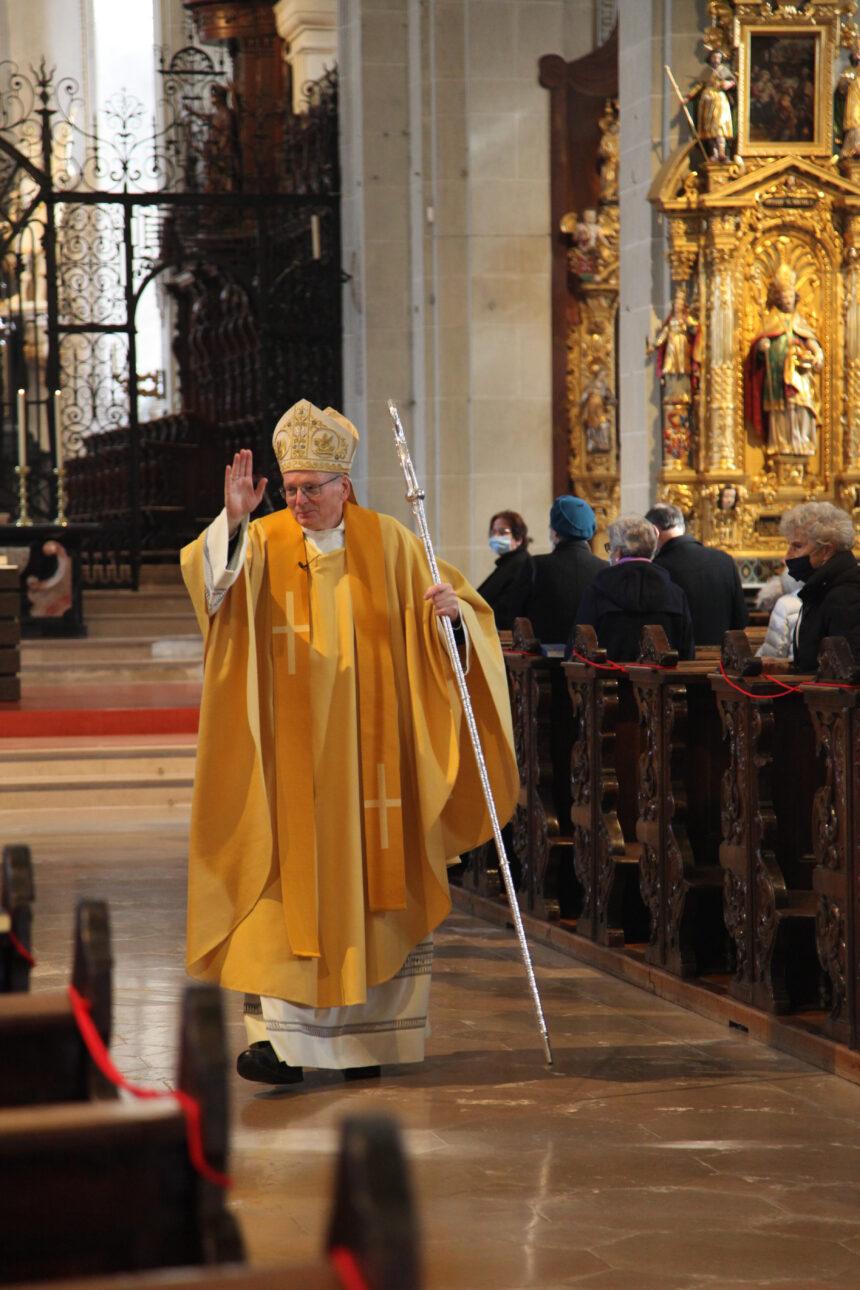 Herbstanlass der Pro Ecclesia in der Luzerner Hofkirche mit  S.E. Erzbischof Dr. Thomas E. Gullickson, apostolischer Nuntius der Schweiz